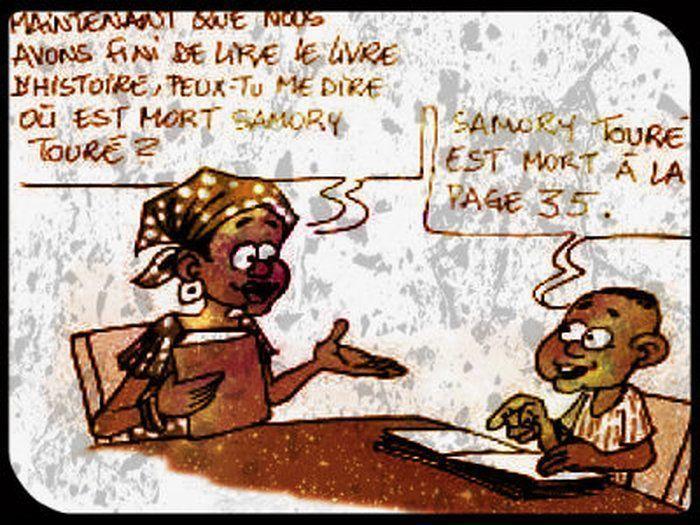 image drole humour africain