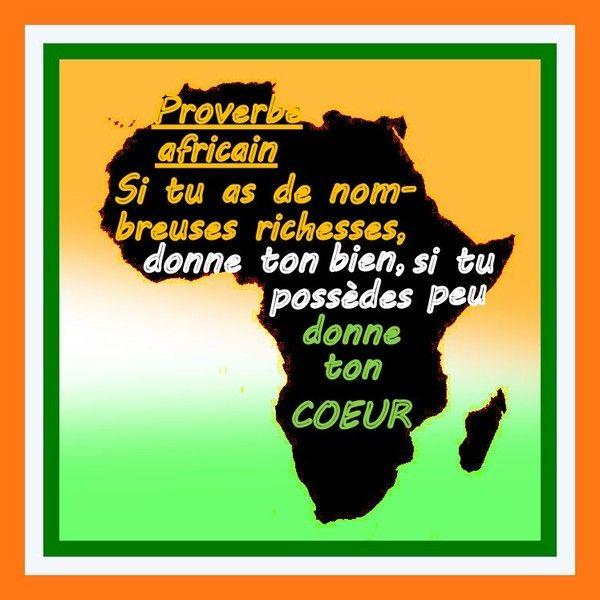 Favori proverbes afrique AX29